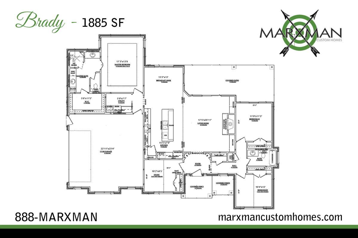 The brady floor plan marxman homes for The home plan