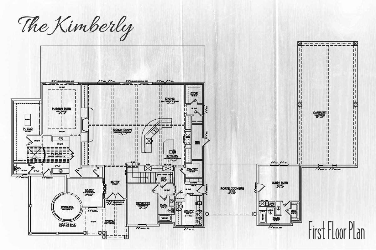 The Kimberly Floor Plan Marxman Homes